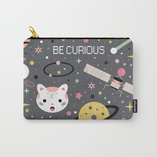 Be Curious  Carry-All Pouch