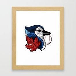 Blue Jays Go Team 2 Framed Art Print