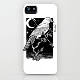 Night Crow iPhone Case