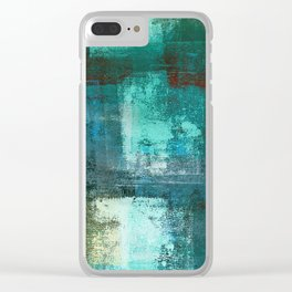 Distant Light Clear iPhone Case