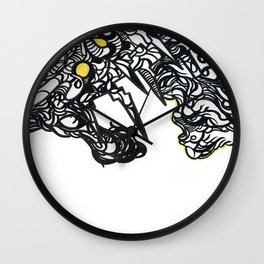 The Dragon And The Dire Wall Clock