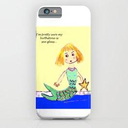 Sea Glass Mermaid iPhone Case