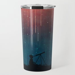 Meteor rain Travel Mug