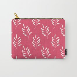 HOT PINK FLORAL Carry-All Pouch