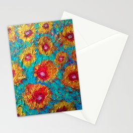 The Golden Poppies Stationery Cards