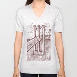 Bridge Unisex V-Neck