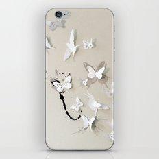 Butterfly Birds iPhone & iPod Skin
