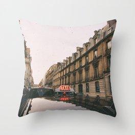 P A R I S Throw Pillow