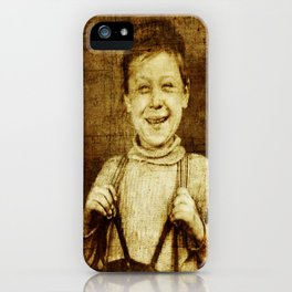 My First Suspenders iPhone Case