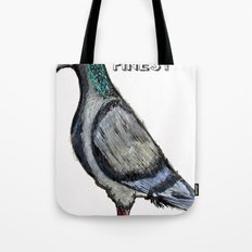 London's Finest: The Grey Pigeon Tote Bag