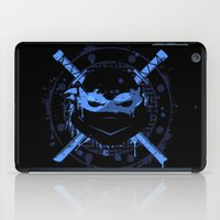leonardo dicaprio iPad Cases featuring Leonardo Turtle by Sitchko Igor