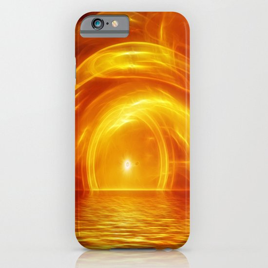 Sunset fractal iPhone & iPod Case
