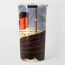 Vintage poster - Lusitania Travel Mug