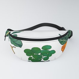 Potted Plant Critters 3 Fanny Pack