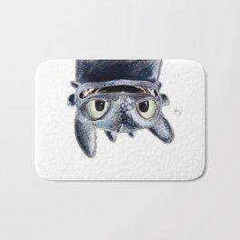 Toothless (Upside Down) Bath Mat