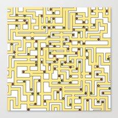 Fruit Maze Canvas Print