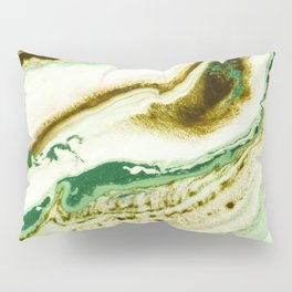 Green fever Pillow Sham