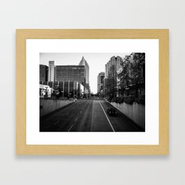 Through City Framed Art Print