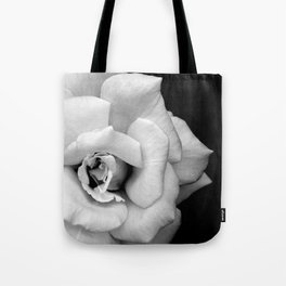 Rose Monochrome Tote Bag