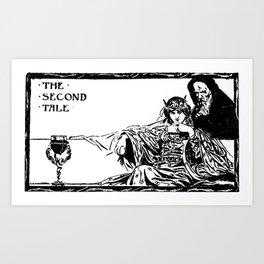 The Second Tale Art Print