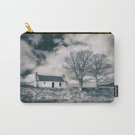 Highland Cottage, monochrome. Carry-All Pouch