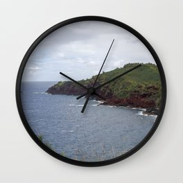 coastline Wall Clock