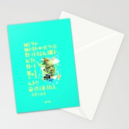 The Rain Said to The Wind, You Push & I'll Pelt. Stationery Cards