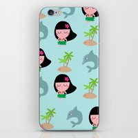 hawaii iPhone & iPod Skins featuring hawaii by Sucoco