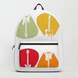Guitar Music Band Guitarist Gift Idea Backpack