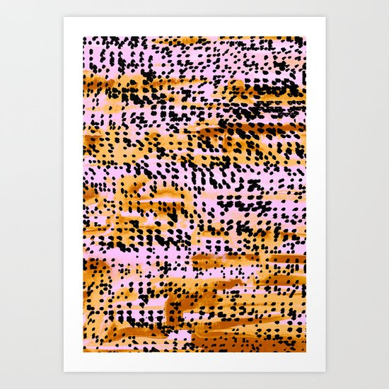 PatternMix03 Art Print