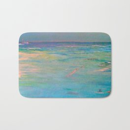 Swimming with friends Bath Mat