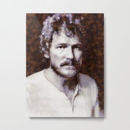 Gordon Lightfoot, Music Legend Metal Print