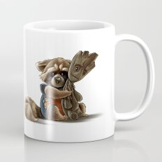 Rocket and Groot Mug