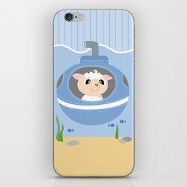Mobil series submarine sheep iPhone Skin