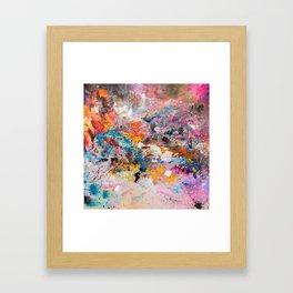 ILLUSIVE MOUNTAINS Framed Art Print