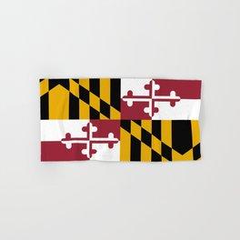 State flag of Flag Maryland Hand & Bath Towel