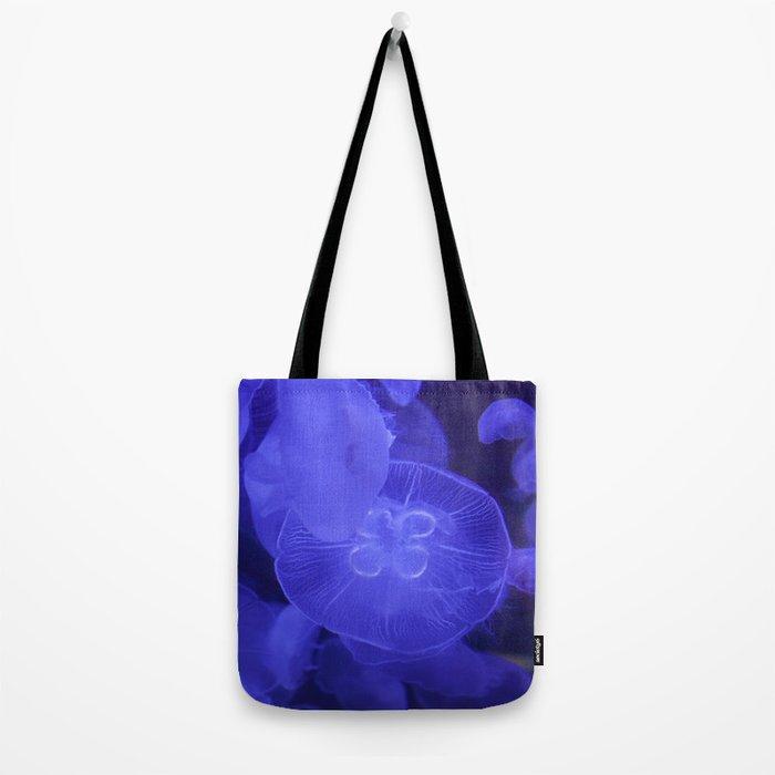 Moon Jelly Fish Tote Bag