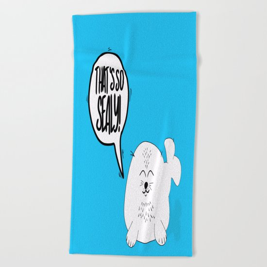 That's so SEALY! Beach Towel
