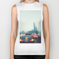chicago Biker Tanks featuring Chicago by KimberosePhotography