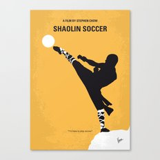 No480 My Shaolin Soccer minimal movie poster Canvas Print