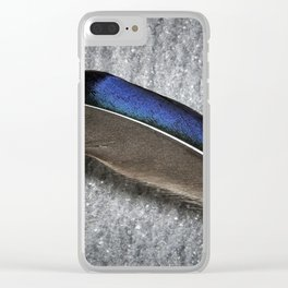 Glossy iridescence Clear iPhone Case
