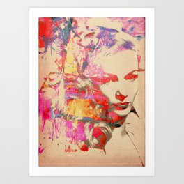 Divas - Veronica Lake Art Print