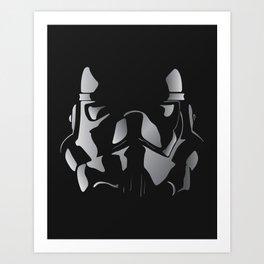 sknnytrooper Art Print