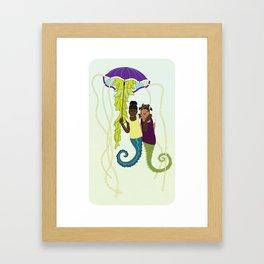 Aflan and Chaz Framed Art Print