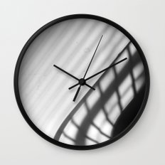 light and shadow - drying rack Wall Clock