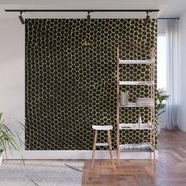 tiny honeycombs Wall Mural