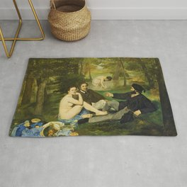 Edouard Manet - Luncheon on the Grass - Digital Remastered Edition Rug