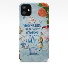 Alice In Wonderland - Imagination iPhone Case
