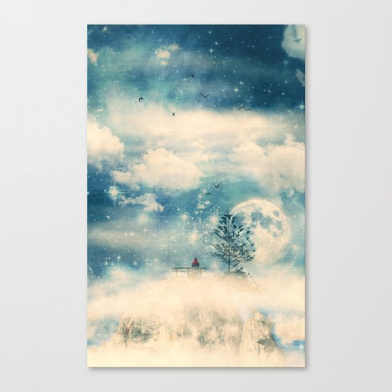 I know a place... Canvas Print