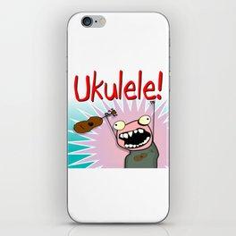 Ukulele! iPhone Skin